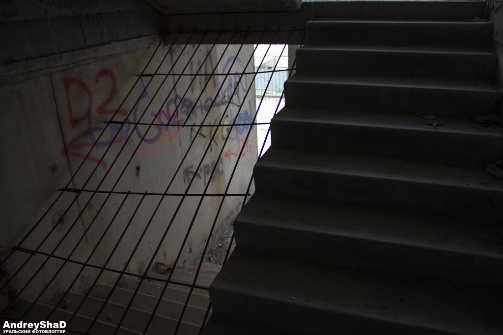 Лестница на 17-ти этажке