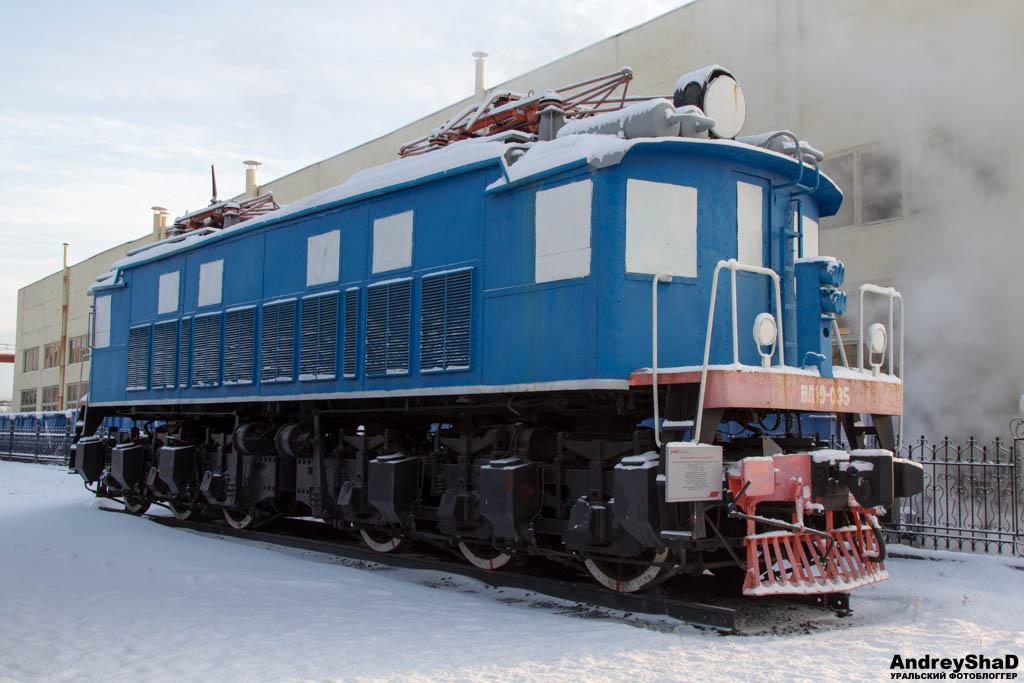 Электровоз в Екатеринбурге