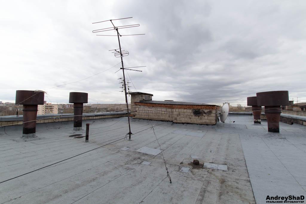 Крыши Нижнего Тагила
