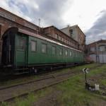 Заброшенные внутренности вагона паровоза Л-4372