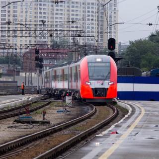 Электропоезд Ласточка