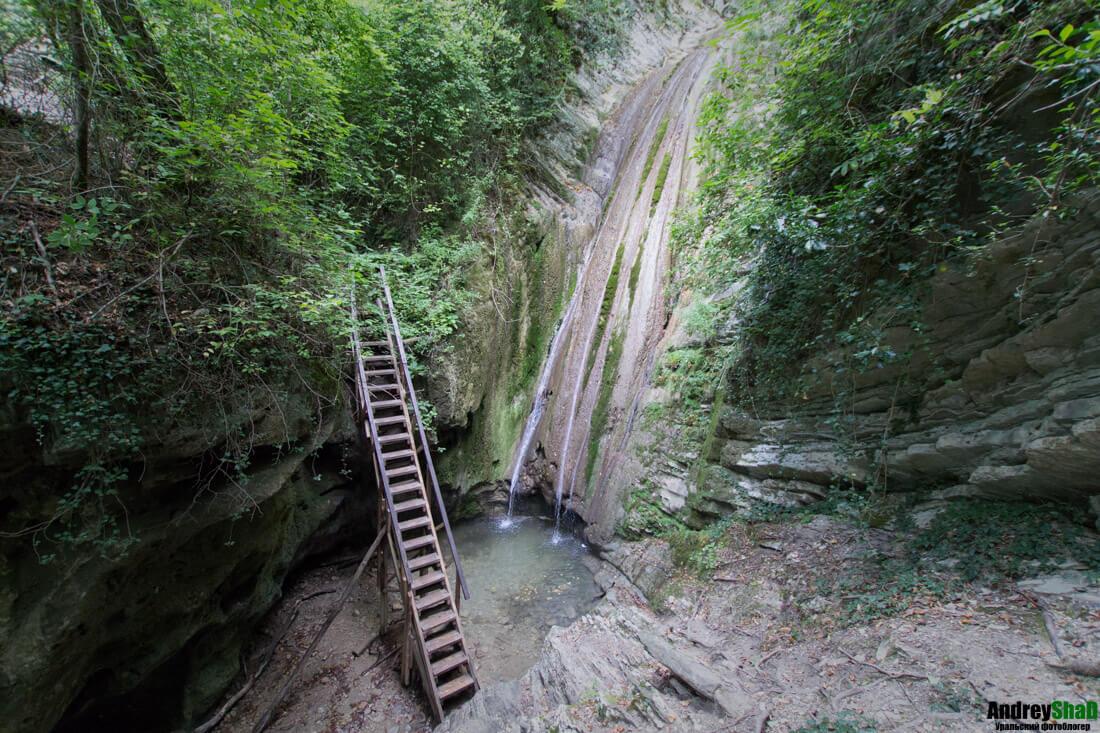 Гебиусские (Тешебские) водопады