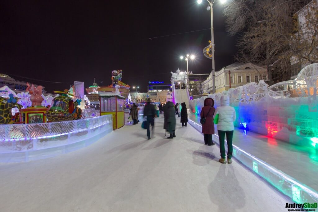 Ледяные развлечения