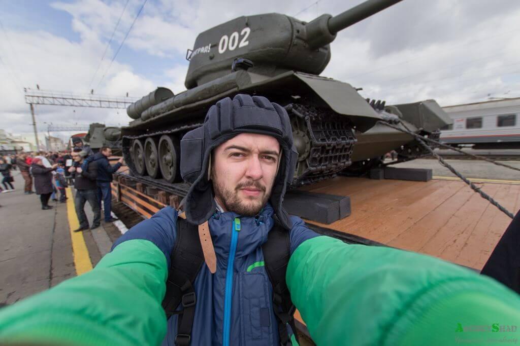 Агитпоезд «Армия Победы»