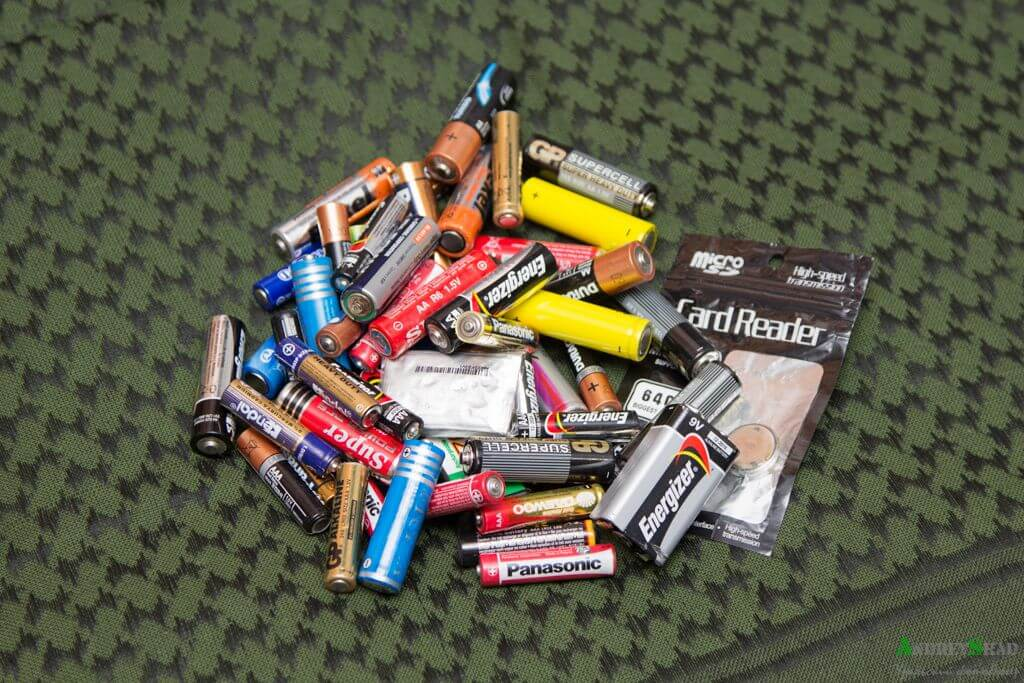 Батарейки на утилизацию