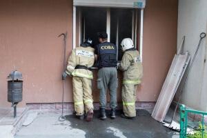Пожар на визе: Татищева 92