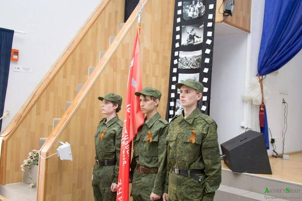 Знаменосцы и знамя Победы