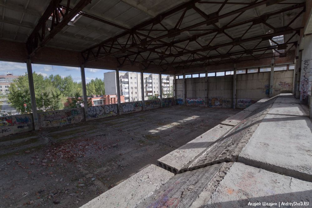 Заброшенный стадион