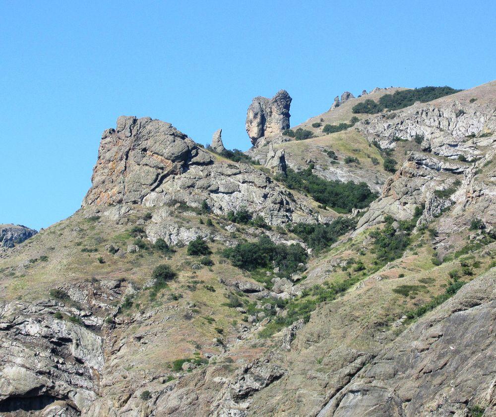 Вулканический массив Кара-Даг (Коктебель)